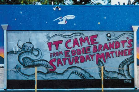 Eddie Brandt's Saturday Matinee Outdoor Mural