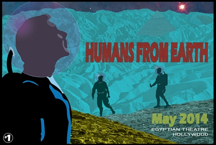 Original Artwork for Humans From Earth: Nerdist Podcasts