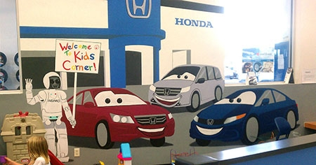 Findlay Honda-Kids' Corners