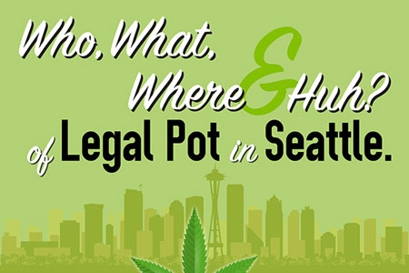 Infographic: Who, What, Where and Huh? of Legal Pot in Seattle